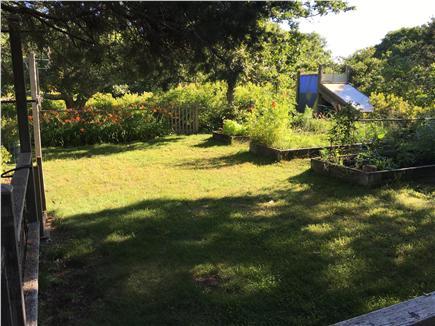West Tisbury Martha's Vineyard vacation rental - Garden, solar shower