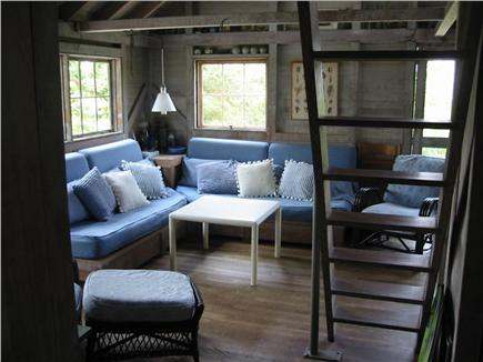West Tisbury Martha's Vineyard vacation rental - Looking into the living room