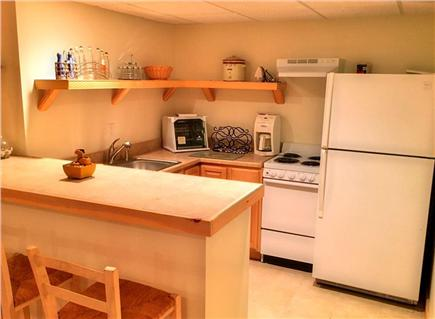 Edgartown Martha's Vineyard vacation rental - Basement Bonus room kitchen/bar