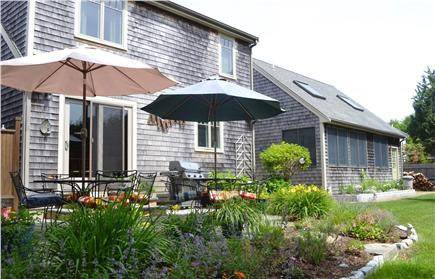 Katama - Edgartown Martha's Vineyard vacation rental - Patio