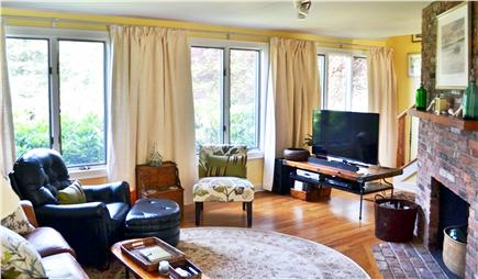 Katama - Edgartown Martha's Vineyard vacation rental - Living Room