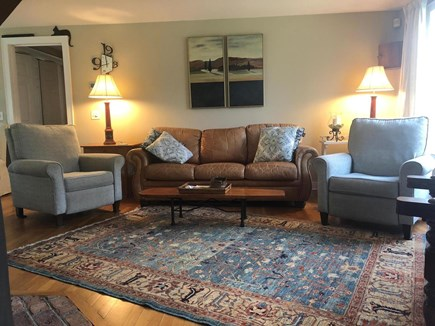 Katama - Edgartown, Edgartown- 1 miles to town  Martha's Vineyard vacation rental - Comfortable living room seating.