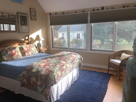 Katama - Edgartown, Edgartown- 1 miles to town  Martha's Vineyard vacation rental - Guest Suite with gliding windows, loft, shower bath, laundry, TV