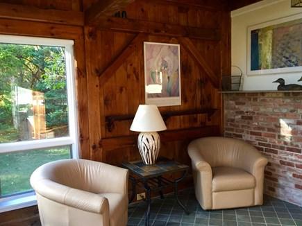 Katama - Edgartown, Edgartown Martha's Vineyard vacation rental - Another view of the sitting area