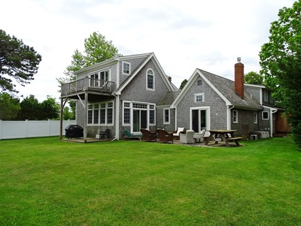 Edgartown Martha's Vineyard vacation rental - Back of house overlooking Sheriff's Meadow Bird Sanctuary.
