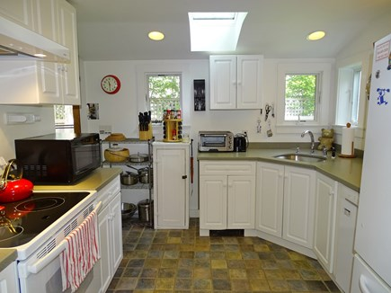 Edgartown Martha's Vineyard vacation rental - The kitchen is fully equipped and has Italian tile floor