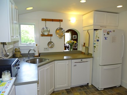 Edgartown Martha's Vineyard vacation rental - View of kitchen, facing dining room