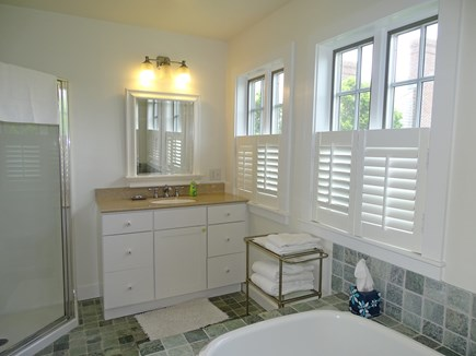 Edgartown Martha's Vineyard vacation rental - Master bath
