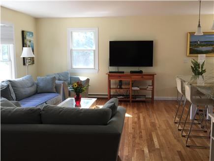 Edgartown Martha's Vineyard vacation rental - Comfortable couch, love seat and chair, flat screen TV