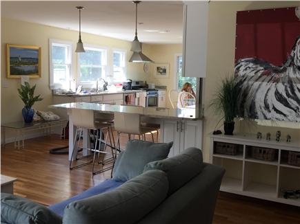 Edgartown Martha's Vineyard vacation rental - Looking into the kitchen