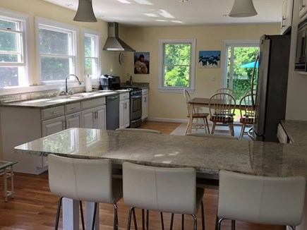 Edgartown Martha's Vineyard vacation rental - seats for 5 at the bar