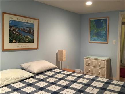 Edgartown   near town Martha's Vineyard vacation rental - Queen bedroom  on lower level.