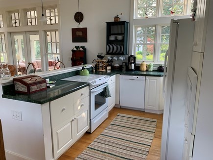 Edgartown Martha's Vineyard vacation rental - Well stocked kitchen with new appliances