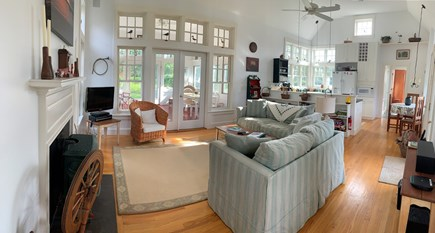 Edgartown Martha's Vineyard vacation rental - Large open living area