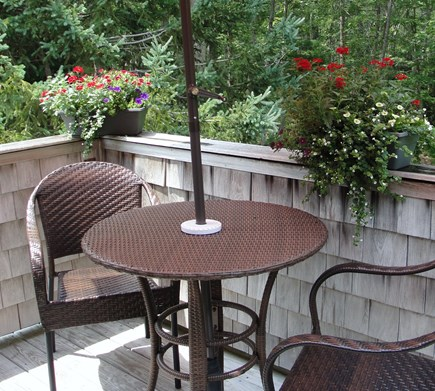 Vineyard Haven Martha's Vineyard vacation rental - Relax on a private deck