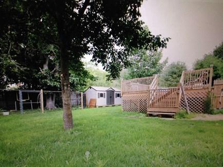Edgartown Martha's Vineyard vacation rental - Backyard
