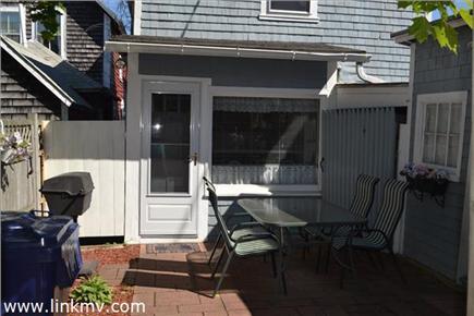 Oak Bluffs Martha's Vineyard vacation rental - Rear patio leading to outdoor shower