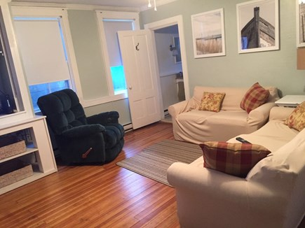 Oak Bluffs Martha's Vineyard vacation rental - Back living room floors redone