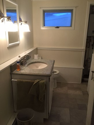Oak Bluffs Martha's Vineyard vacation rental - Downstairs bathroom , new floor & vanity