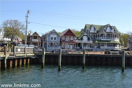 Oak Bluffs Martha's Vineyard vacation rental - Oak Bluffs harbor directly across the street (blue cottage)