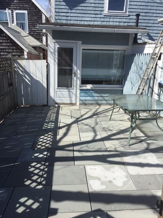 Oak Bluffs Martha's Vineyard vacation rental - New blue slate patio in rear