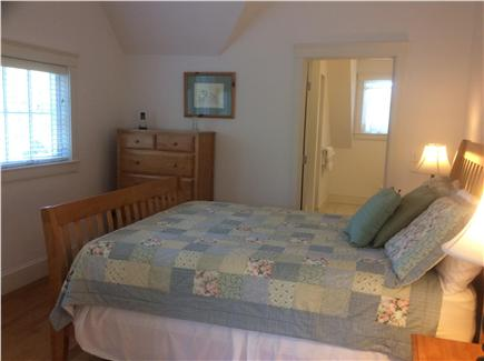 Edgartown Martha's Vineyard vacation rental - 2nd bedroom with queen bed and private bath on second floor