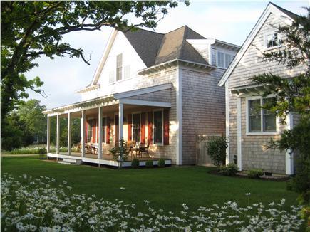 Edgartown Martha's Vineyard vacation rental - Front view of main house