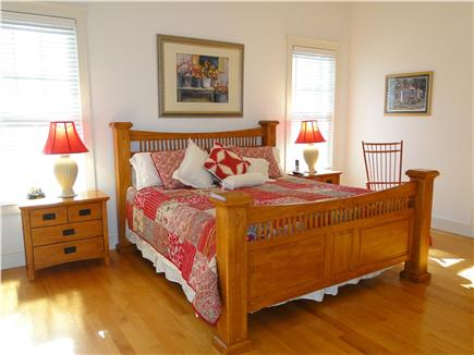 Edgartown Martha's Vineyard vacation rental - Large Master suite with King bed, door to patio