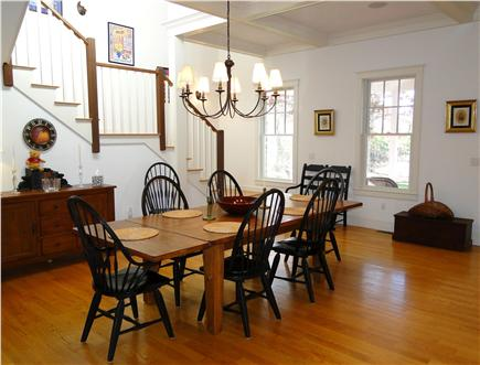 Edgartown Martha's Vineyard vacation rental - Spacious dining area