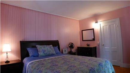 Oak Bluffs Martha's Vineyard vacation rental - 1st Floor queen bedroom with vanity sink