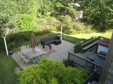 Katama - Edgartown, Edgartown Martha's Vineyard vacation rental - Patio and hot tub off kitchen