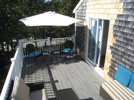 Katama - Edgartown, Edgartown Martha's Vineyard vacation rental - Guest House Deck