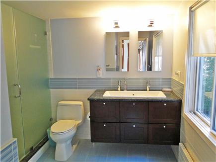 Lambert's Cove  West Tisbury Martha's Vineyard vacation rental - Full Master bath