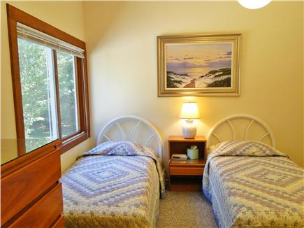 Lambert's Cove  West Tisbury Martha's Vineyard vacation rental - second twin bedroom upstairs