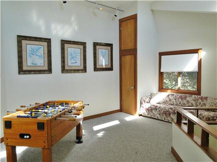 Lambert's Cove  West Tisbury Martha's Vineyard vacation rental - Rec area upstairs with Foosball table – great hang out for kids!
