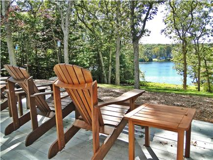 Lambert's Cove  West Tisbury Martha's Vineyard vacation rental - Spend your morning coffees and afternoon drinks on the deck