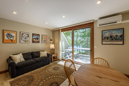 Lambert's Cove  West Tisbury Martha's Vineyard vacation rental - Guest side kitchen and family room overlooking the pond