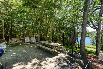 Lambert's Cove  West Tisbury Martha's Vineyard vacation rental - Mainside dinning and bbq space