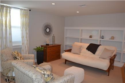 Oak Bluffs Martha's Vineyard vacation rental - Finished lower level w/entertainment & sleeping areas, half bath
