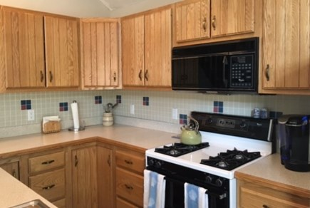 Edgartown Martha's Vineyard vacation rental - Kitchen Open to Living Area