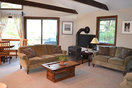Edgartown Martha's Vineyard vacation rental - Open and Sunny Living Area