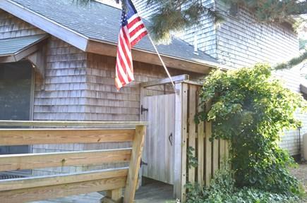Edgartown Martha's Vineyard vacation rental - Deck that leads to Outdoor Shower