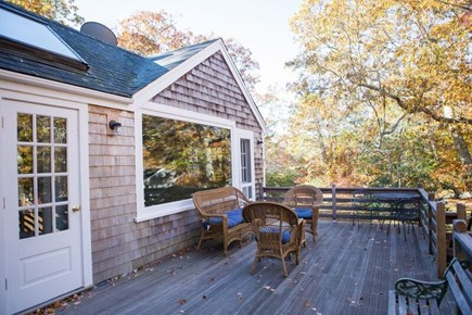 West Tisbury Martha's Vineyard vacation rental - Outdoor Deck