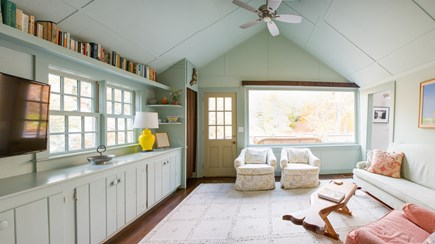 West Tisbury Martha's Vineyard vacation rental - Cozy Den area