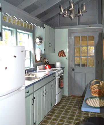 West Tisbury Martha's Vineyard vacation rental - Cozy kitchen in guest house