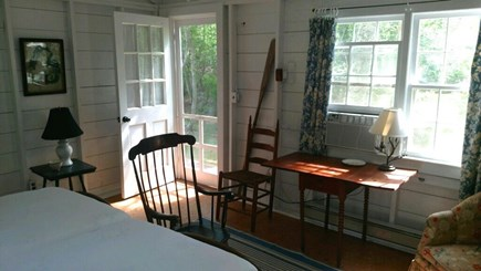 West Tisbury Martha's Vineyard vacation rental - Two Twins (King) Bedroom in guest house