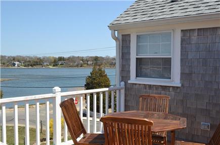 Vineyard Haven Martha's Vineyard vacation rental - Enjoy coffee on the deck