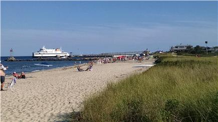 Oak Bluffs, East Chop Martha's Vineyard vacation rental - Take the short sandy road to the beach.