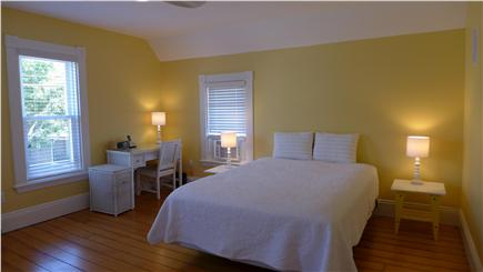 Oak Bluffs Martha's Vineyard vacation rental - 2nd floor Queen master yellow bedroom