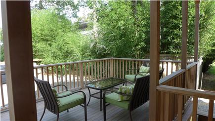 Oak Bluffs Martha's Vineyard vacation rental - Back deck to enjoy family, friends, and lots of barbecues